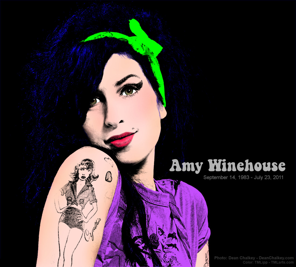 AmyWinehouseByDeanChalkey TMLippColor