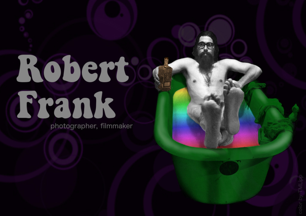 Robert Frank Self Portrat Ballou's Studio TMLippColor