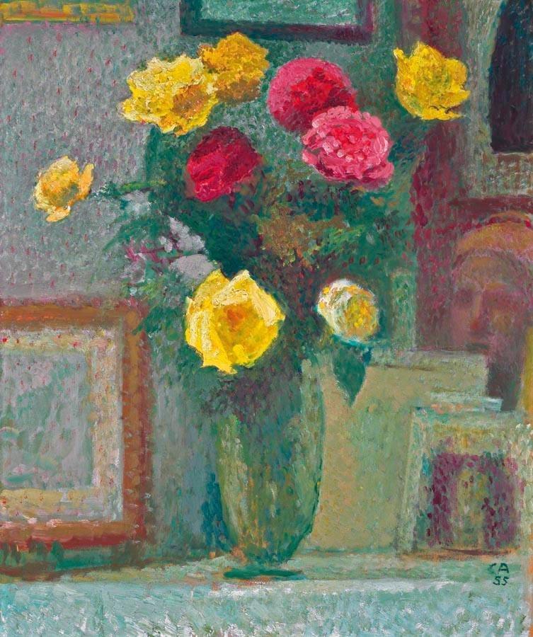 Blumenstrauss, 1955, Cuno Amiet