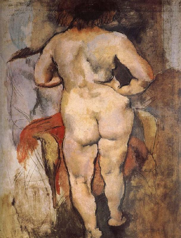 """A View Of Venus' Back,"" c. 1928, by Pascin"