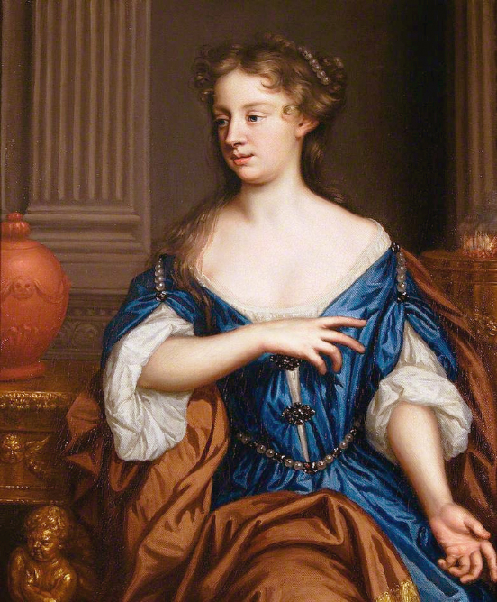 """""""Self Portrait"""" by England's first prominent female painter, Mary Beale, c. 1675-1680"""