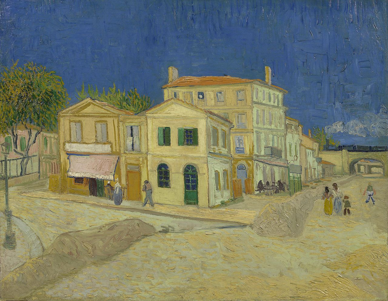 The Yellow House, by Vincent van Gogh, 18