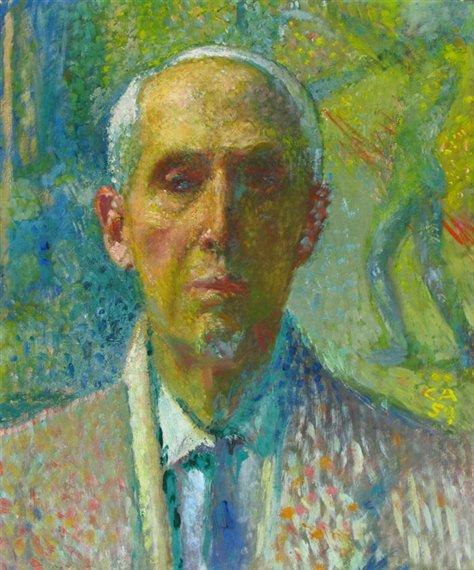 Self Portrait, 1959, by Cuno Amiet