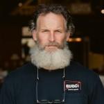 barney with beard