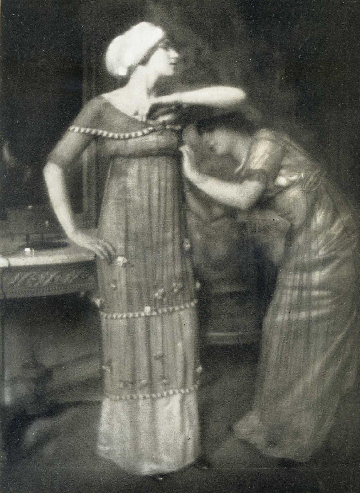 Poiret Fashion, by Edward Steichen, 1911