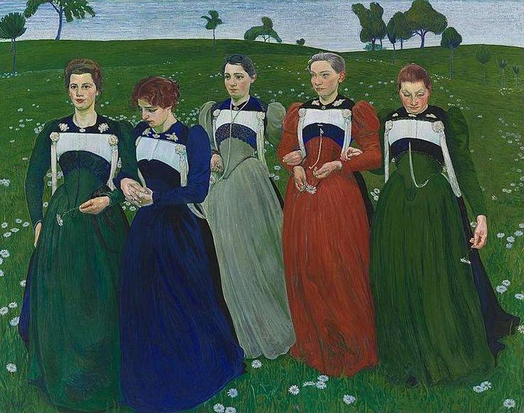 Richesse Du Soir (Evening Wealth), 1899, by Cuno Amiet
