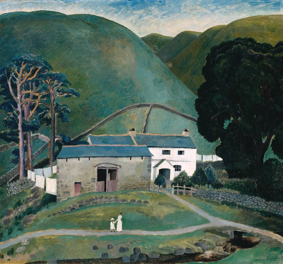 Farm at Watendlath, 1921, Carrington