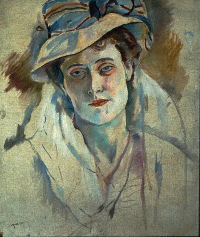 """Hermine David,"" 1907, by Pascin"