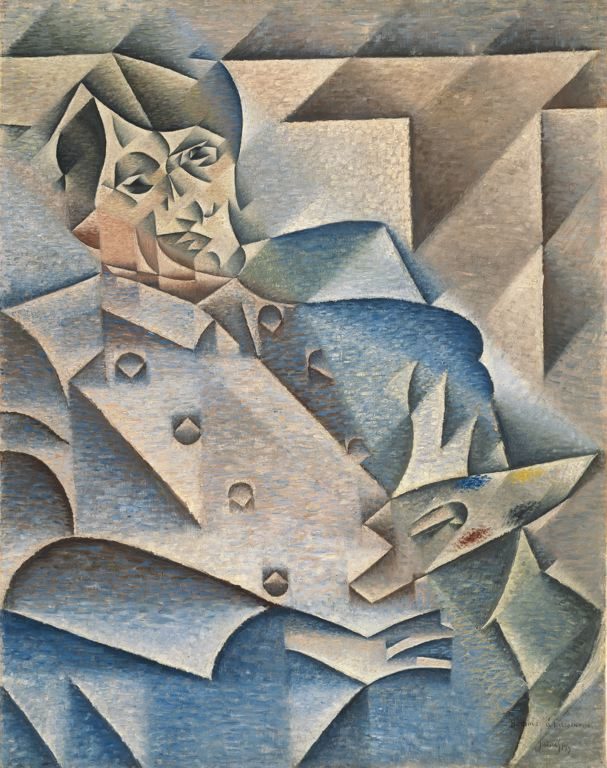 """Hommage A Picasso"" by Juan Gris"