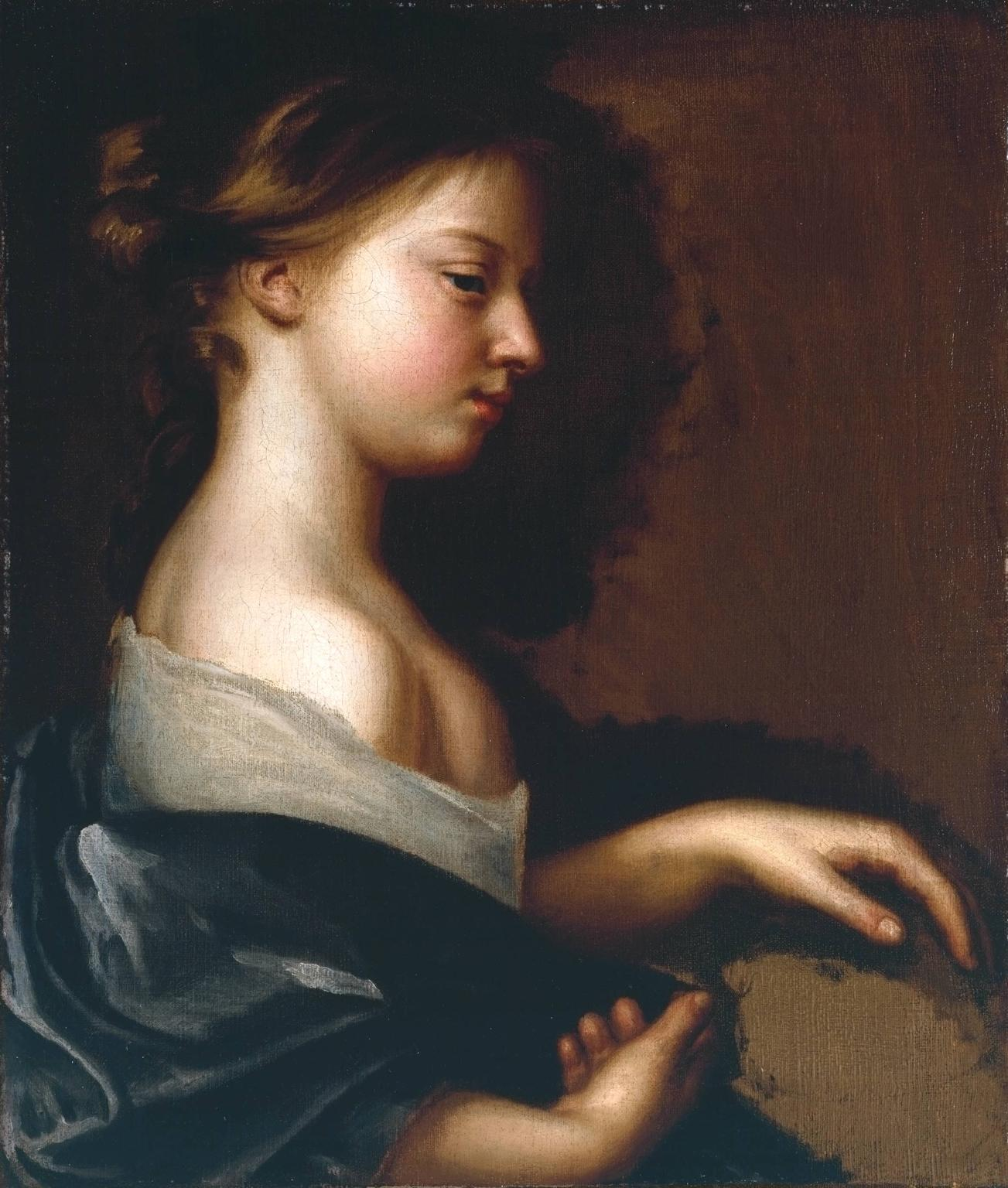 Portrait of a Young Girl c.1681 Mary Beale 1633-1699 Purchased 1992 http://www.tate.org.uk/art/work/T06612