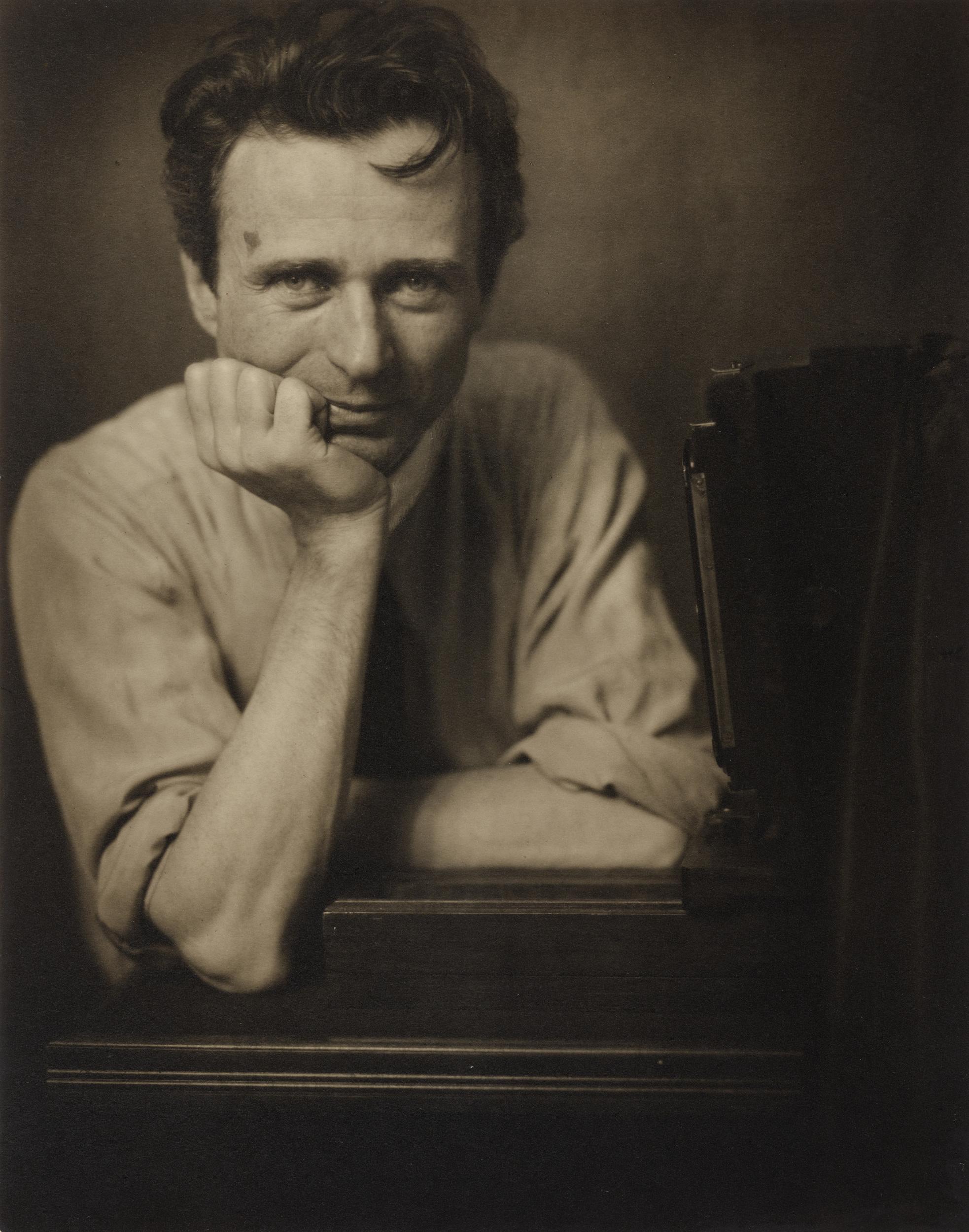 Self Portrait of photographer Edward Steichen, from 1917