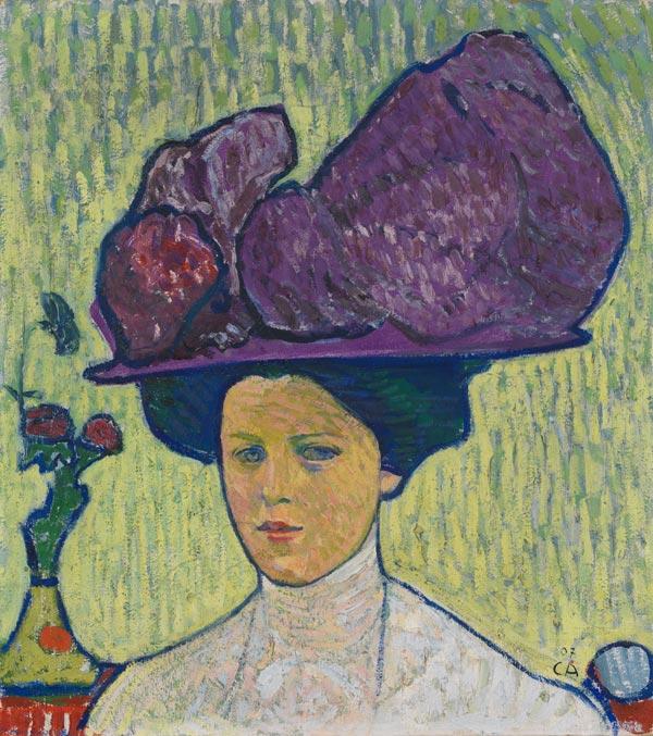 the-violet-hat-1907