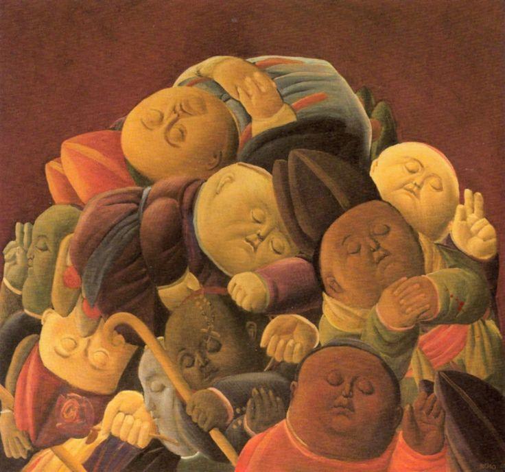 """Dead Bishops,"" by Fernando Botero, 1958"