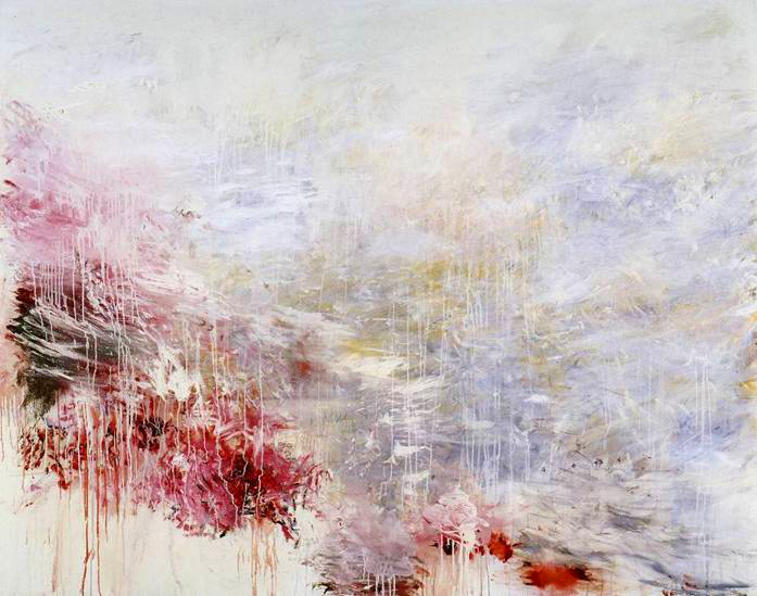 """Hero And Leander,"" by Cy Twombly, 1985"