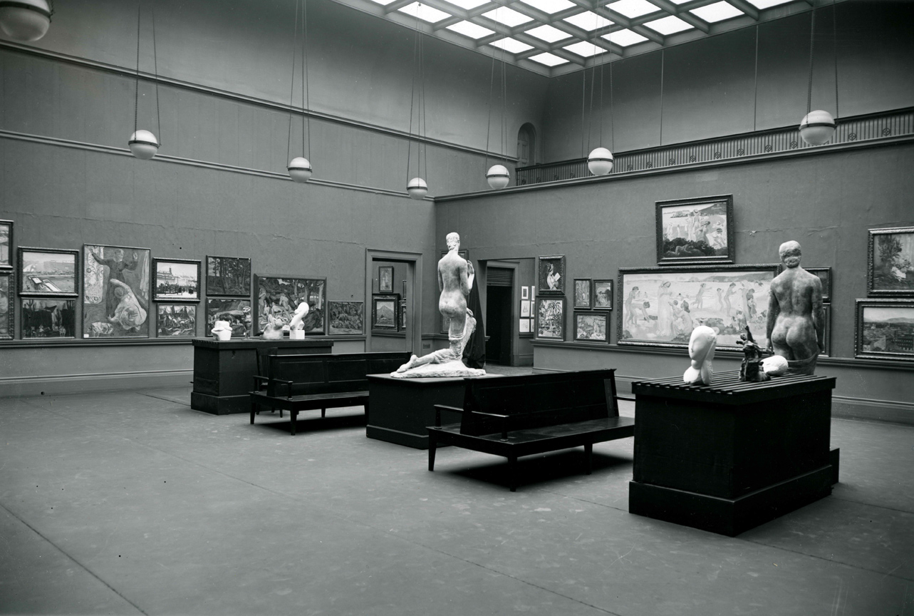 "The First International Exhibition of Modern Art, ""The Armory Show,"" in New York City, February 17, 1913"