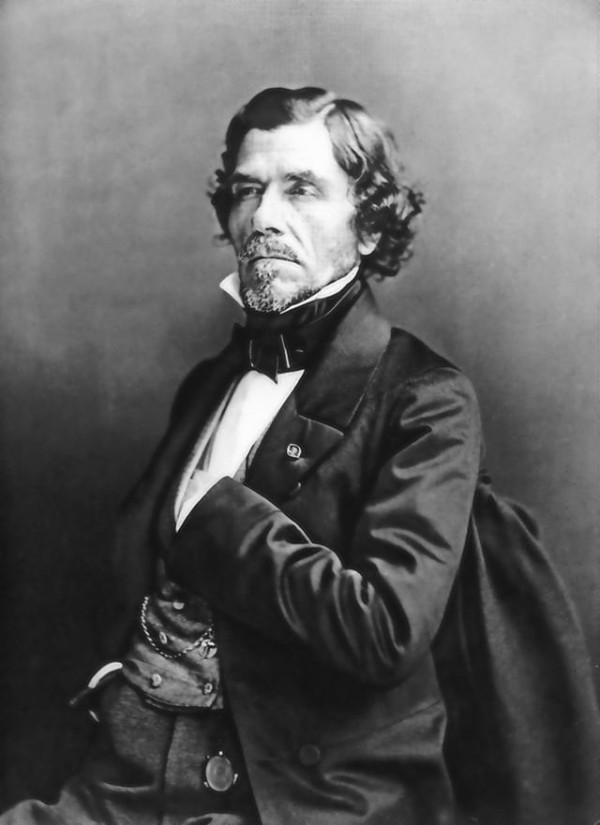 Portrait of Eugène Delacroix, by Félix Nadar
