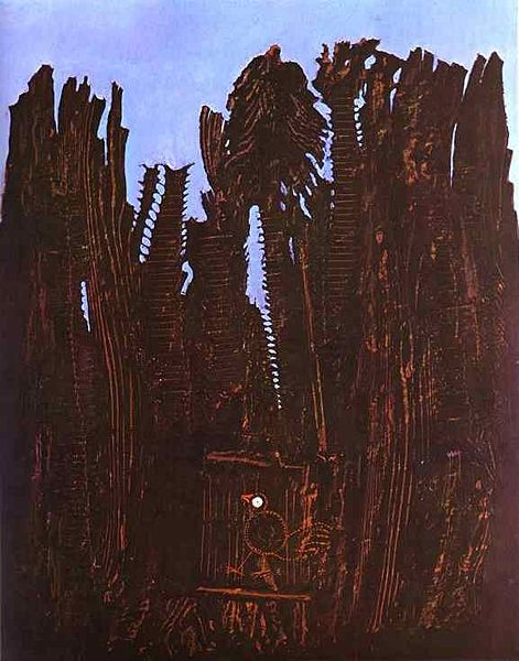 """Forest and Dove,"" 19 by Max Ernst"