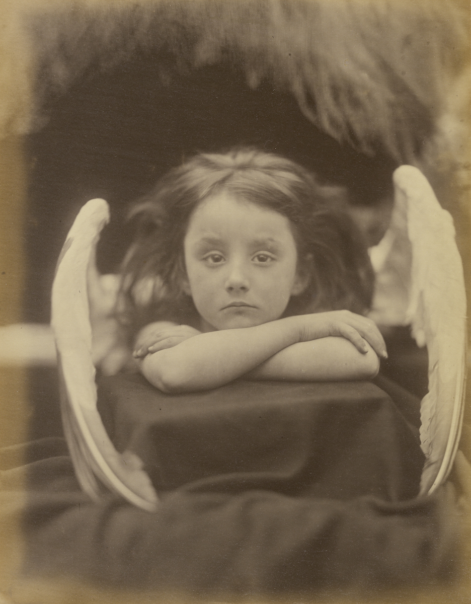 "Muybridge would have seen images such as this, ""I Wait (Rachel Gurney),"" by Julia Margaret Cameron. It is well accepted that he was influenced by this type of pictorialism and visual poetry in the mid 1800's."