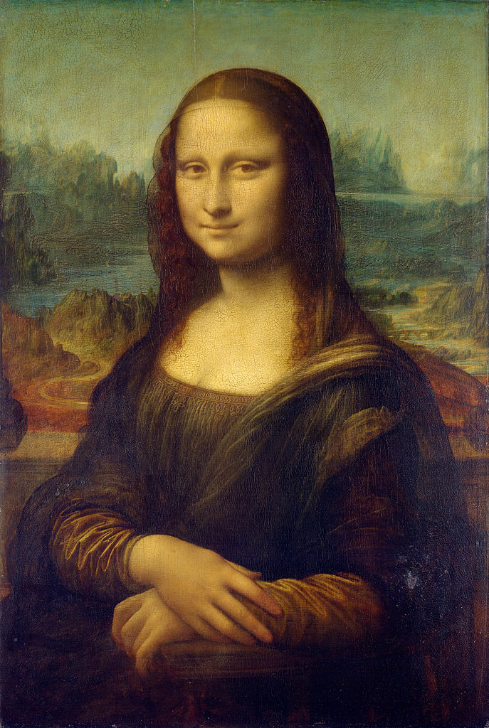"The ""Mona Lisa"" by Leonardo da Vinci, created sometime between 1503-1517"