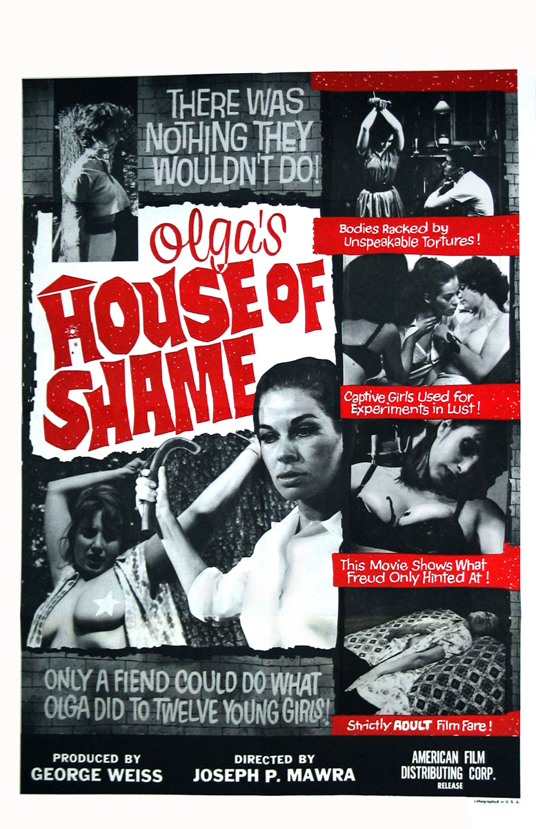 "Poster for the film ""Olga's House Of Shame"" 19"