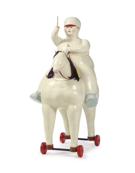 """Pedro On A Horse,"" by Fernando Botero, 1977"