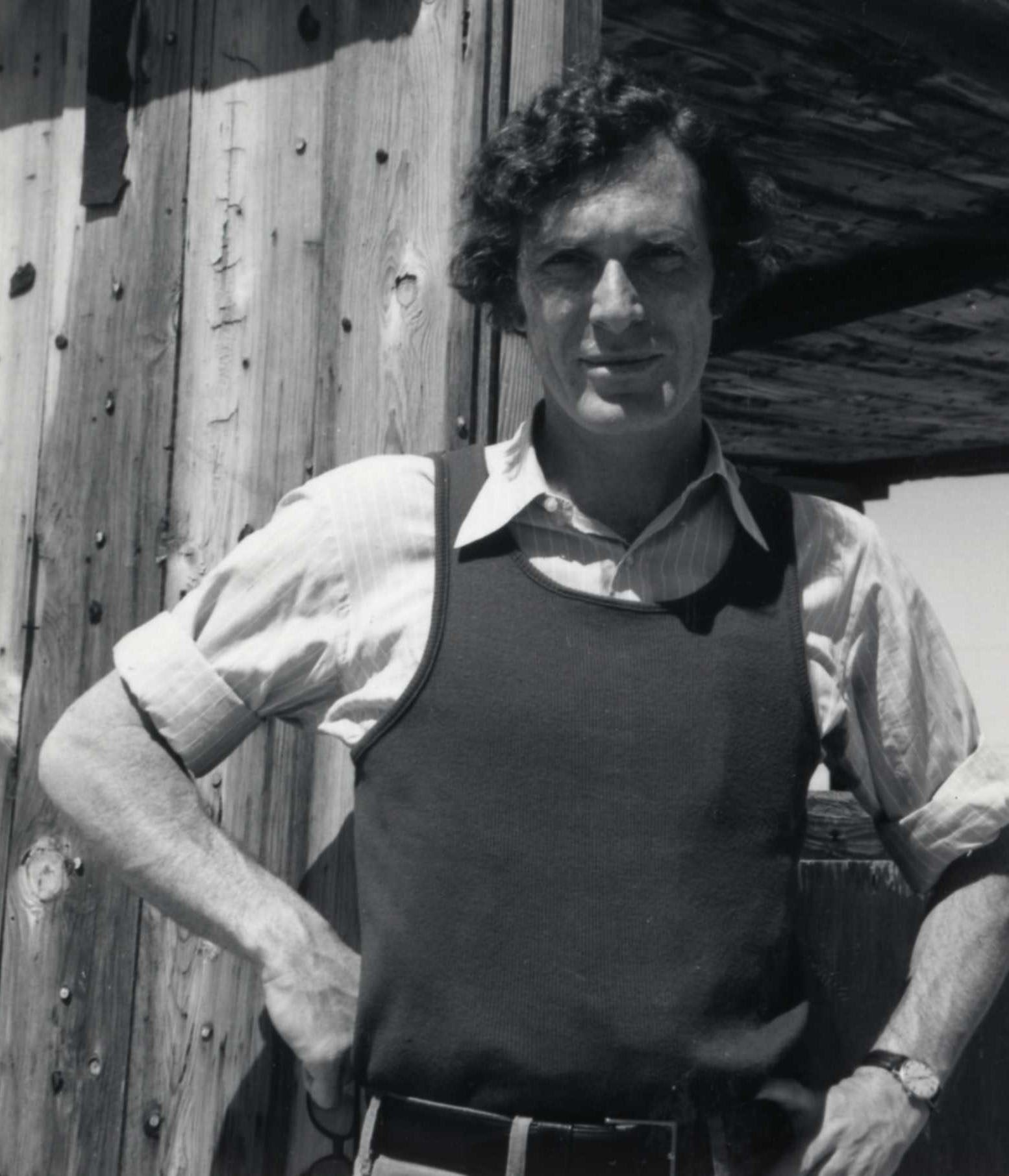 A young Mark Strand, 1971