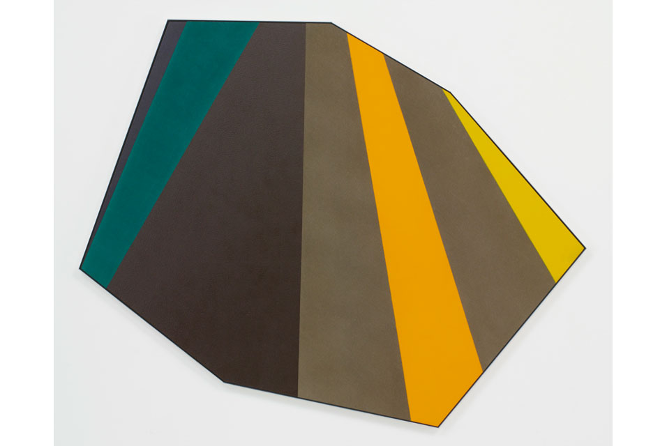 """Vault,"" by Kenneth Noland, 1976"