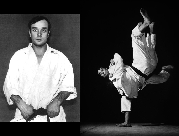 Yves Klein was a black belt in Judo