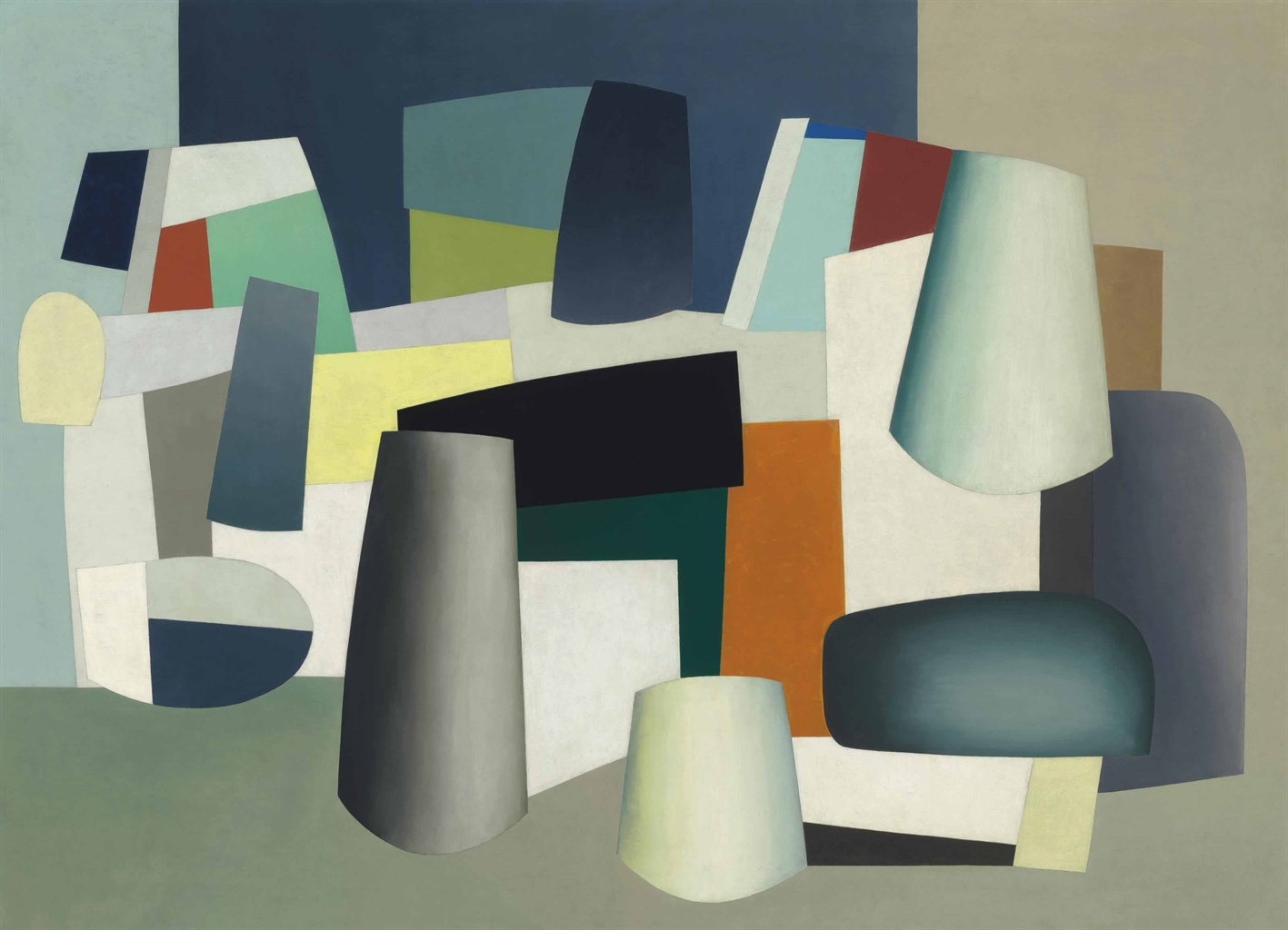 """Abstraction,"" by Jean Hélion, 1935"