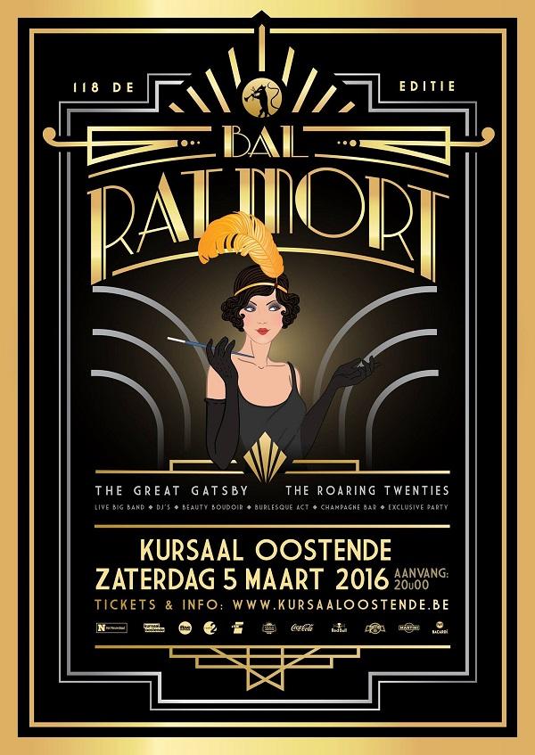 Poster for the 2016 Bal Du Rat Mort