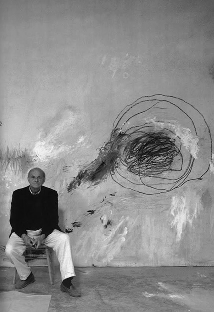 Cy Twombly in Lexington, VA, 1994 - photo by David Seider