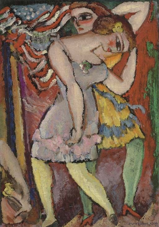 """Dancers,"" by Max Weber, 1909"