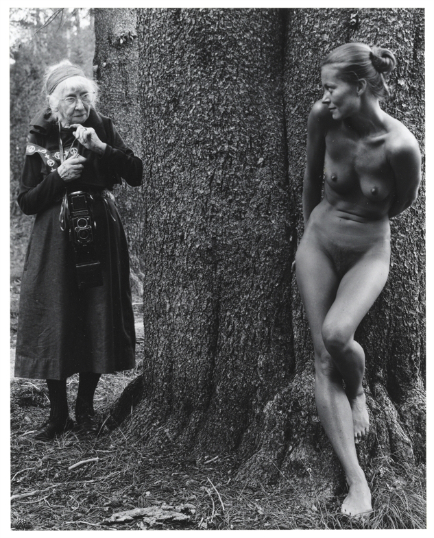 """Imogen and Twinka at Yosemite,"" by Judy Dater, 1974"