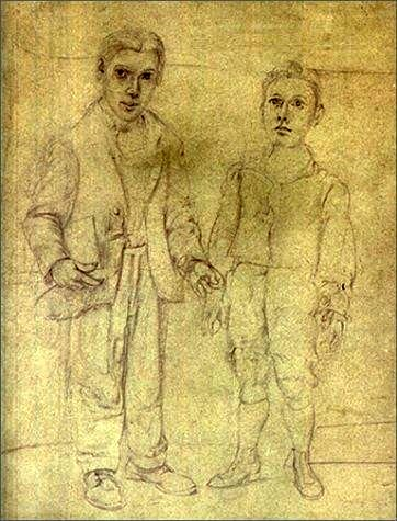 de-kooning-self-portrait-with-imaginary-brother-38-artes-fine-arts-magazine