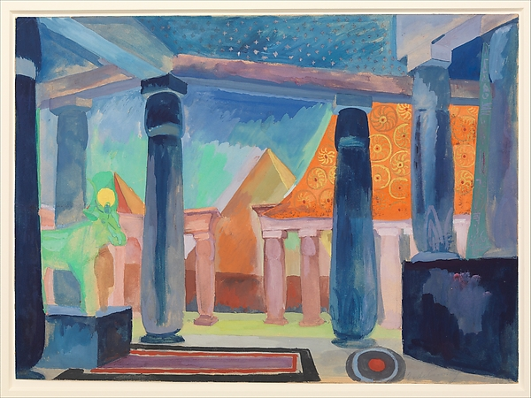 delaunay set design for cleopatra
