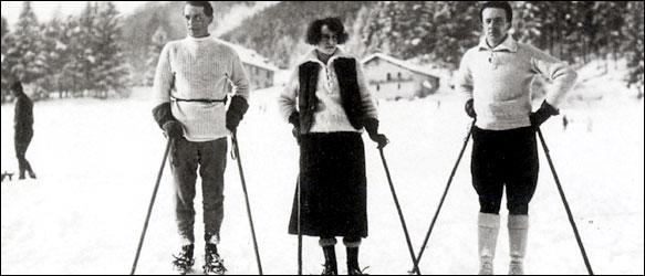 Max Ernst, Gala, and Paul Eluard, 1922