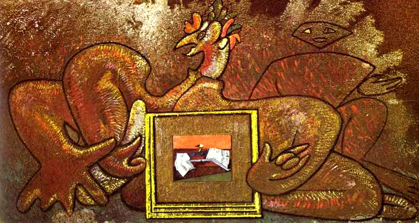 """Loplop Presents Loplop,"" 19 by Max Ernst"