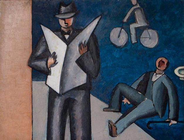 """""""Etude E195"""" by Jean Hélion, 1939"""