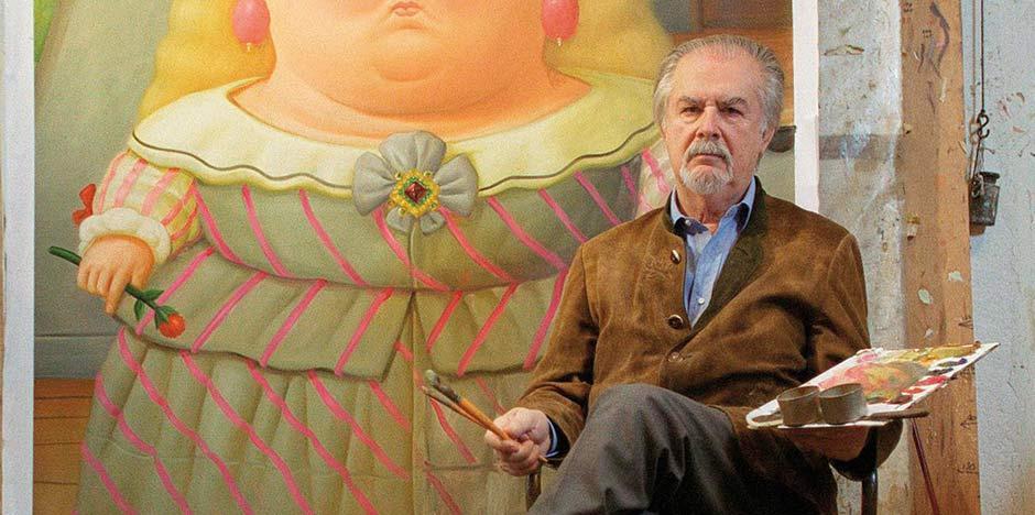 Il maestro, Fernando Botero