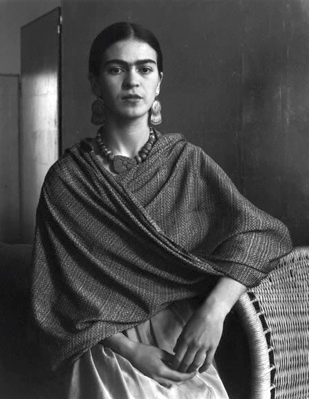 """Portrait of Frida Khalo,"" by Imogen Cunningham, 1931"