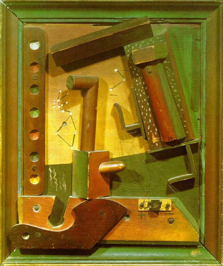 """Fruit Of A Long Experience,"" 1919 by Max Ernst"