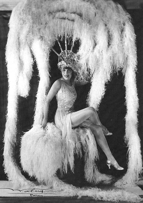 The girl that started it all, Mistinguett (undated photo)