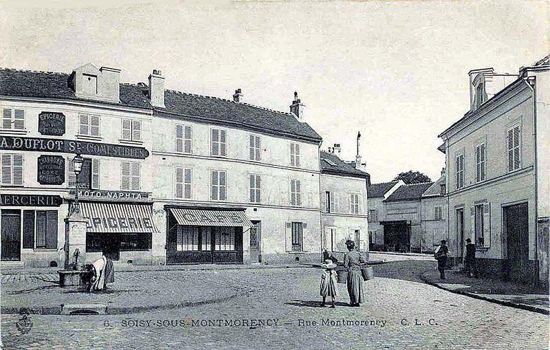 Main Street Souisy Sous Monfkj, 1900