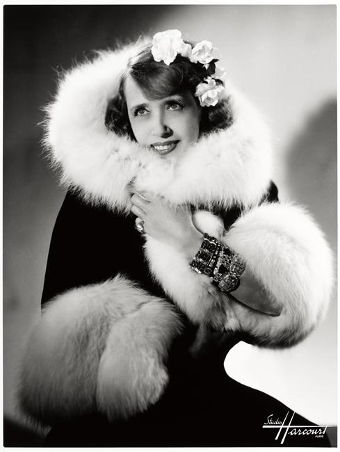 The beautiful, bawdy, bodacious babe, Mistinguett.