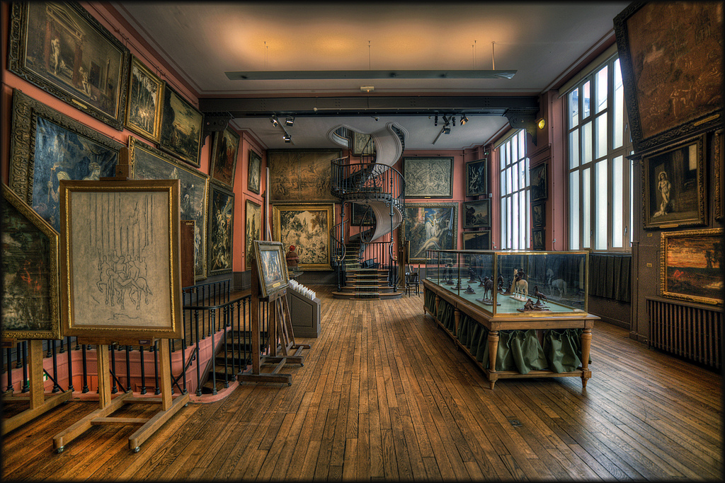 The stunningly beautiful Musee Gustave Moreau, in Paris