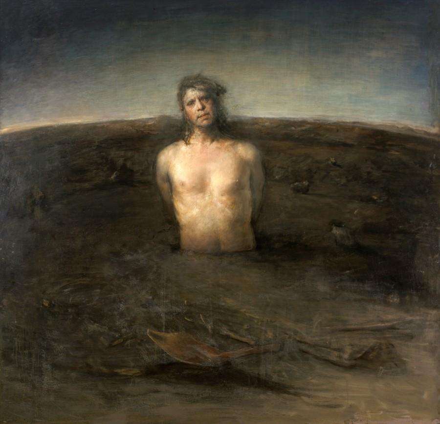 """Second Birth,"" 2004 by Odd Nerdrum"