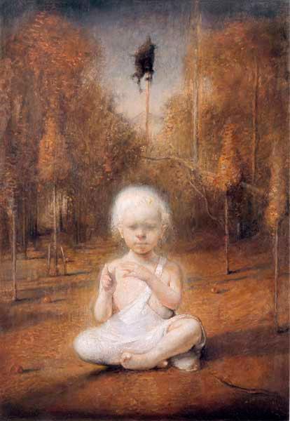 """Self Portrait As A Baby,"" ~ Odd Nerdrum"