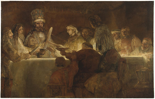 "Rembrandt's ""Claudius Civilis,"" the painting that would forever change Nerdrum's work"