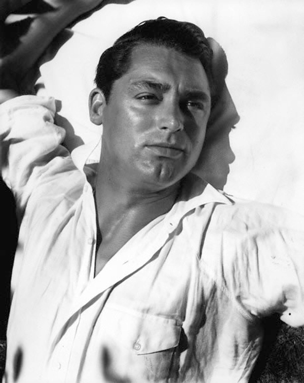 """Portrait of Cary Grant,"" by Imogen Cunningham, 1932 for Vanity Fair"