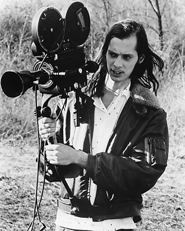 "1972 - Filmmaker John Waters on the set of ""PINK FLAMINGOS."" From the documentary film ""Divine Trash."""